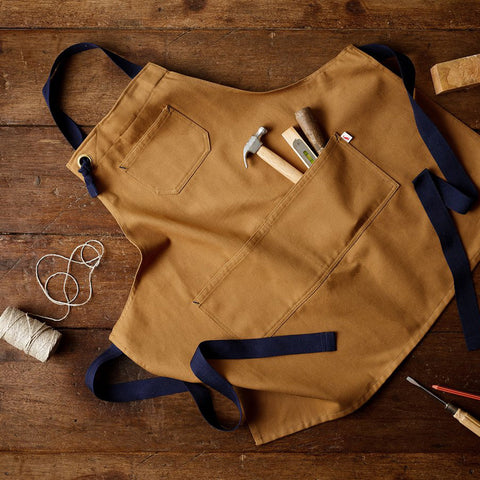 Cotton Maker Apron - Tan
