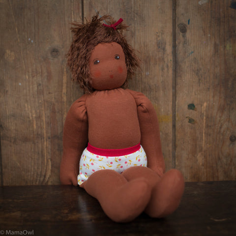 Organic Cotton/Wool Waldorf Doll - Pauline