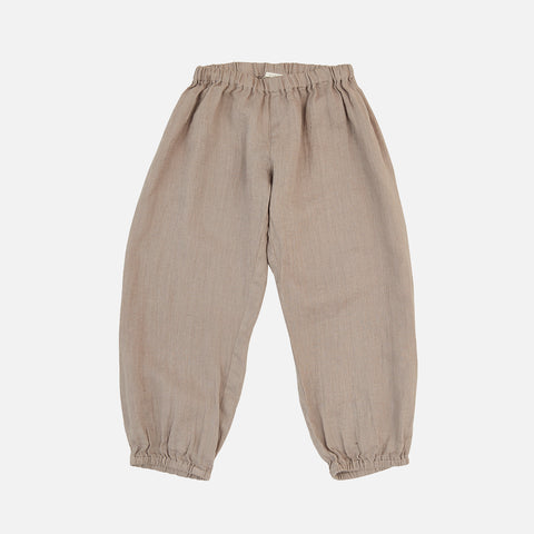 Linen India Pants - Light Gray - 2-10y