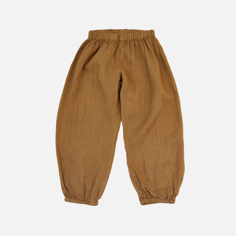 Linen India Pants - Golden Ochre - 2-10y