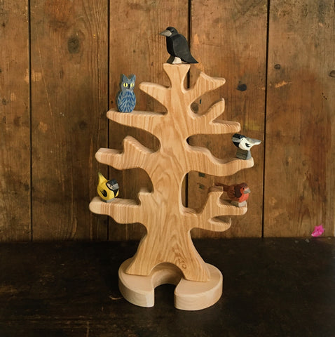 Handcrafted Large Natural Bird Tree