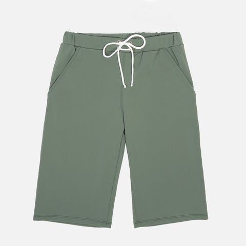 Sam Long Swim Shorts - Olive - 2-10y