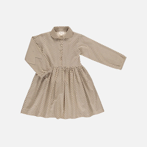 Organic Cotton Josefine Dress - Mini Flower - 2-10y