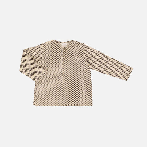 Organic Cotton Liam Shirt - Mini Flower - 2-10y