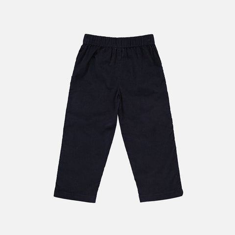 Organic Cotton Corduroy Oliver Pants - Dark Blue - 2-10y