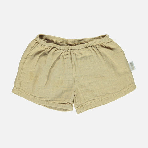 Organic Cotton Cardamone Shorts - Starfish - 3-8y