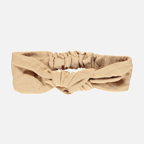 Organic Cotton Chardon Headband - Indian Tan - 0-24m