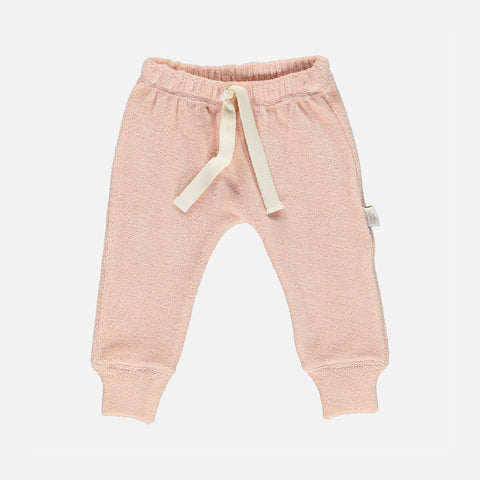 Organic Cotton Terry Cresson Leggings - Evening Sand - 3m-4y