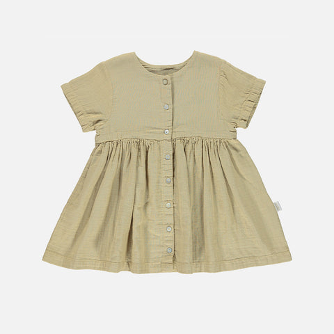 Organic Cotton Guarana Dress - Starfish - 24m-8y