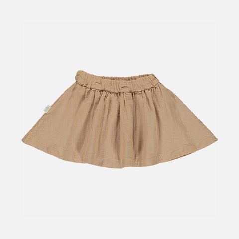 Organic Cotton Reine des Pres Skirt - Indian Tan - 2-8y