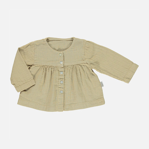 Organic Cotton Romarin Long Sleeve Blouse - Starfish - 3m-8y