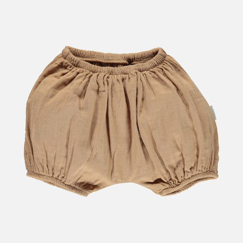 Organic Cotton Bloomers - Indian Tan - 1m-4y