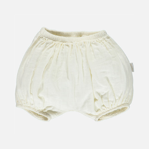 Organic Cotton Bloomers - Lait - 1m-4y