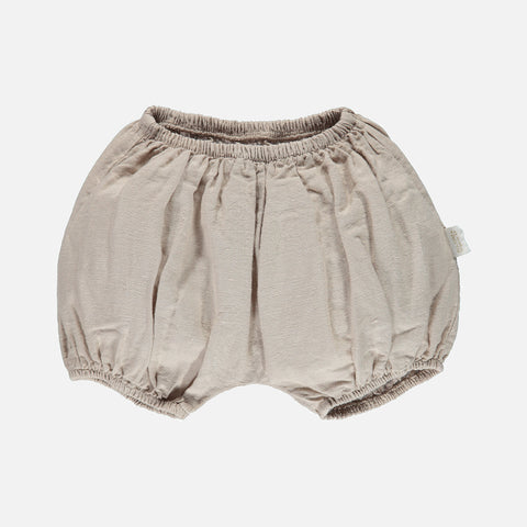 Linen/Organic Cotton Bloomers - Naturel - 3m-4y