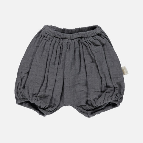 Organic Cotton Bloomers - Iron Gate - 1m-4y