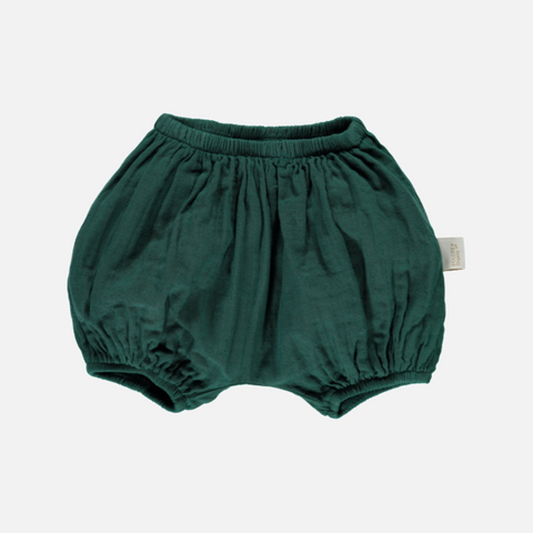 Organic Cotton Bloomers - Bistro Green - 1m-4y
