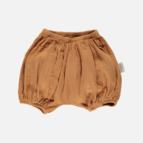 Organic Cotton Bloomers - Cashew - 1m-4y