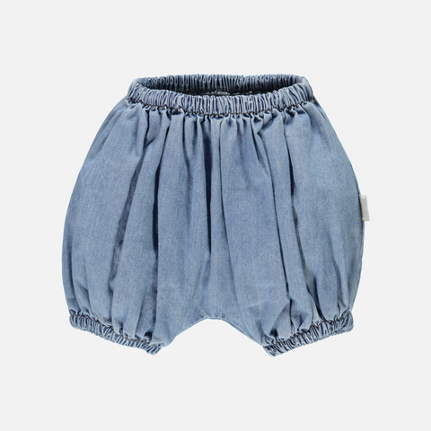 Organic Cotton Bloomers - Denim - 1m-4y