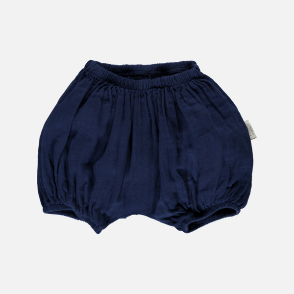 Organic Cotton Bloomers - Medieval Blue - 1m-4y