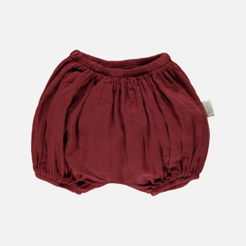 Organic Cotton Bloomers - Syrah - 1m-4y