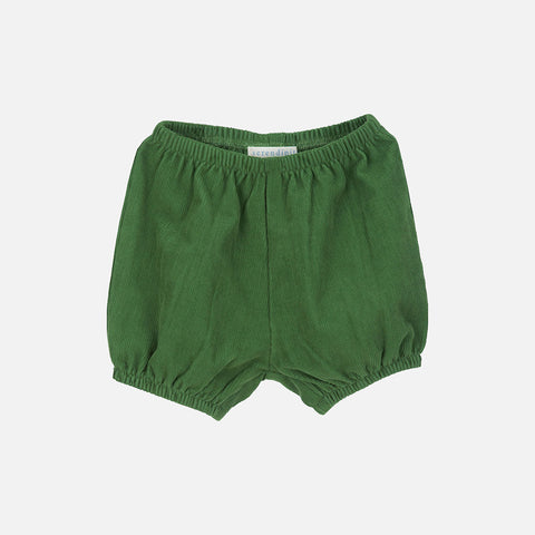 Corduroy Baby Bloomers - Green - 3m-2y
