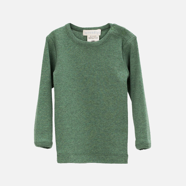Organic Cotton Tee - Green - 3m-2y