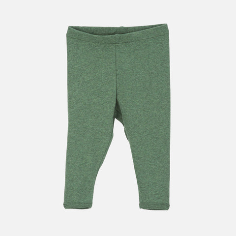Organic Cotton Leggings - Green - 0m-2y