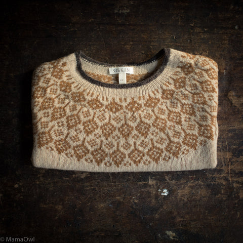 Superfine Lambswool Autumn Sweater - Fawn
