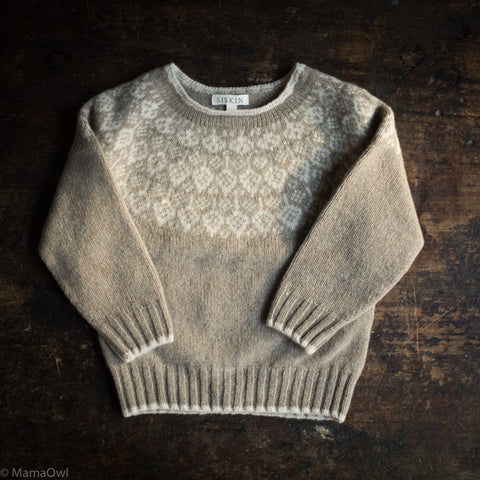 Superfine Lambswool Autumn Sweater - Feather