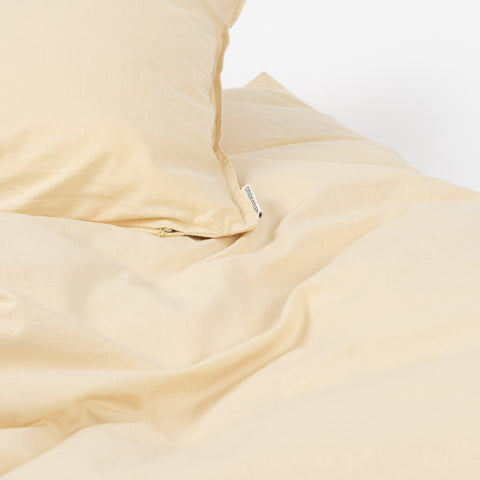 Organic Cotton Duvet & Pillow Cover - Limonade - Single