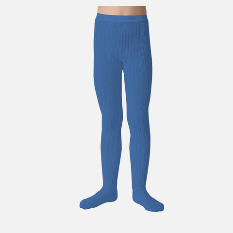 Cotton Babies & Kids Rib Tights - Cobalt