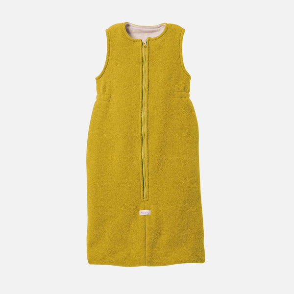 Boiled Wool Sleeping Bag - Curry
