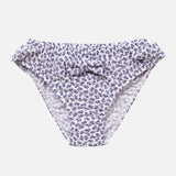 Zoe Bikini Pants - Grey Flowers