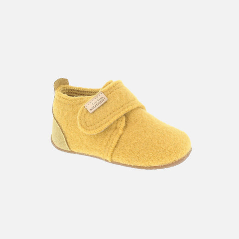 Wool Slipper Shoe - Citrus