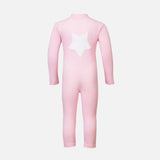 Lou LS Star Sunsuit - Blush