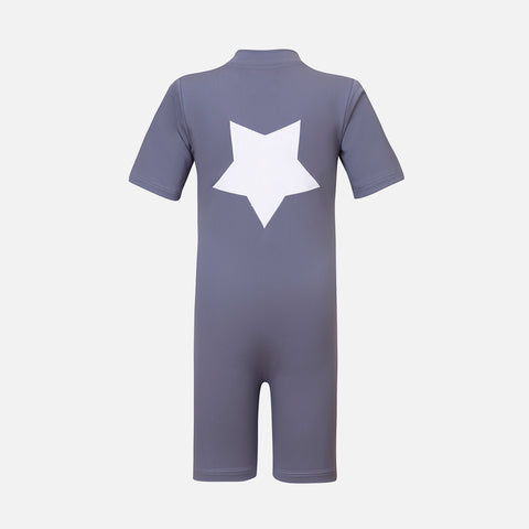 Noe SS Star Sunsuit - Midnight Fog