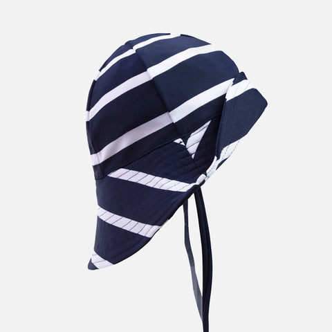 Frey Swim Sun Hat - Blue/White