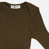 Merino Wool Alaska Long Sleeve Body - Moss