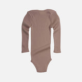 Merino Wool Alaska Long Sleeve Body - Pearl