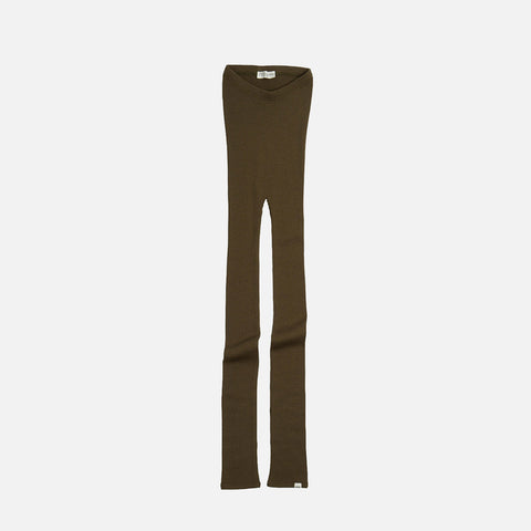 Merino Wool Arona Leggings - Moss