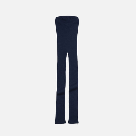 Merino Wool Arona Leggings - Navy