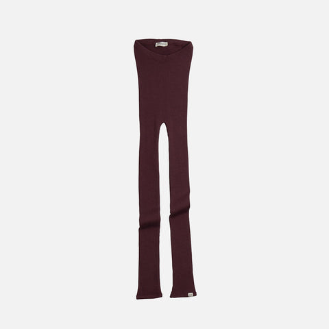 Merino Wool Arona Leggings - Raisin