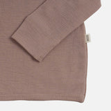 Merino Wool Also Cardigan - Pearl