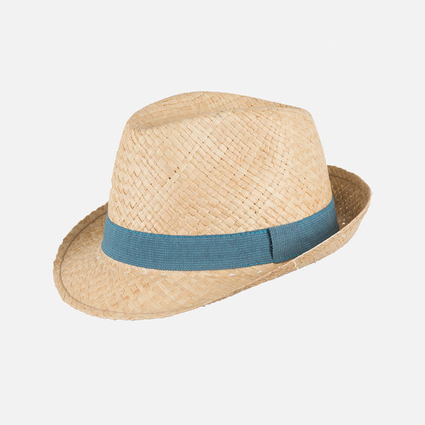 Straw Hat - Storm Blue