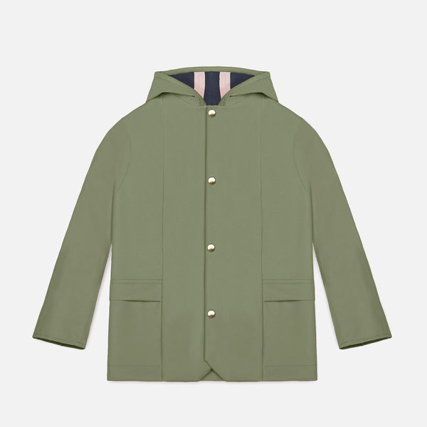 100% Waterproof Norfolk Raincoat - Balsam