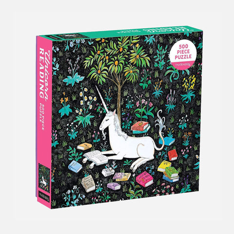 Unicorn Reading 500 Piece Family Puzzle