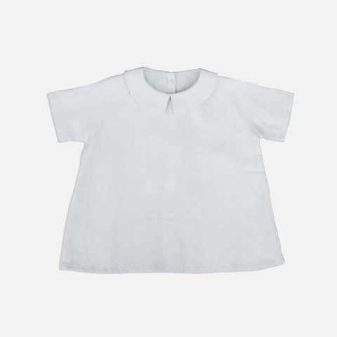 Linen Ork SS Shirt - Pale Mint