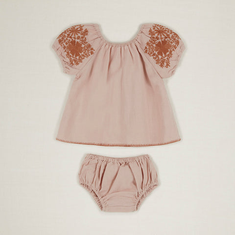 Cotton Baby Barbara Set - Pink Sand
