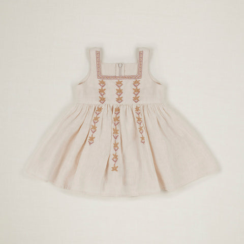 Cotton Baby Betty Dress - Ivory