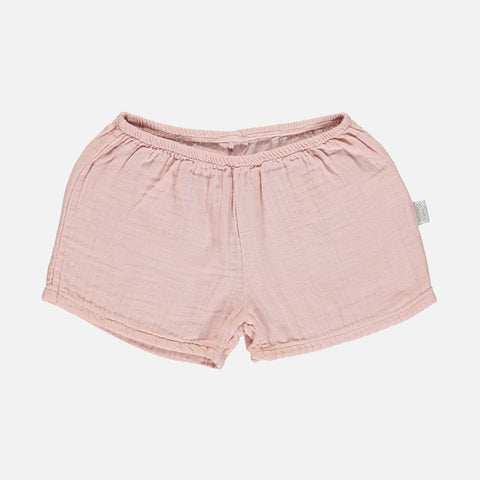 Organic Cotton Cardamome Shorts - Evening Sand